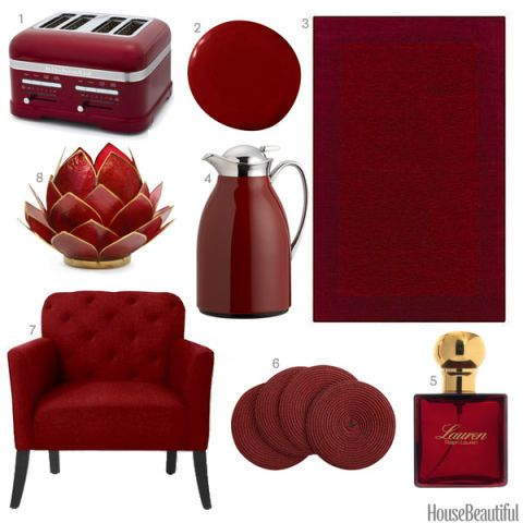 Color Obsession of the Week: Garnet Red