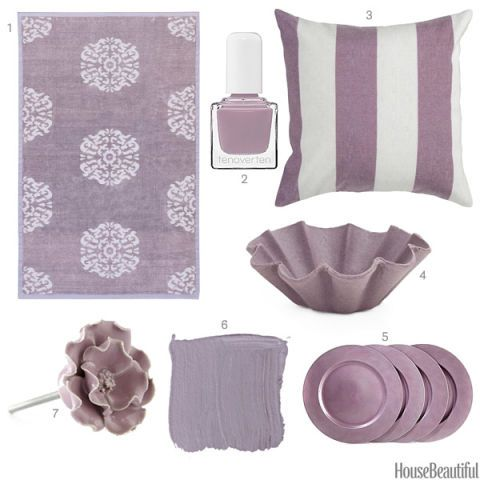 Dusty Purple Accessories