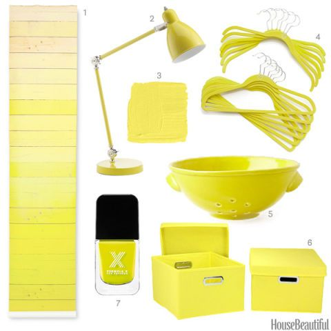 Canary Yellow Accessories