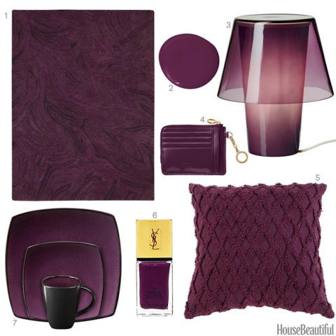 Eggplant Home Accessories