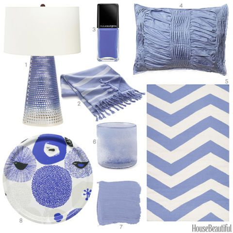 Periwinkle Accessories Home Decor
