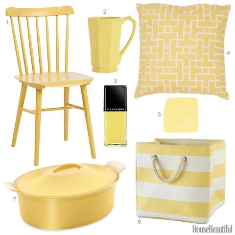 Charmant Butter Yellow Accessories