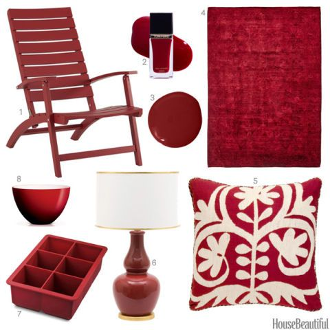 Beau Ruby Red Accessories