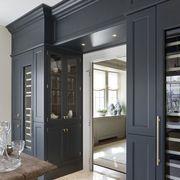 Property, Glass, Architecture, Door, Floor, Home door, Interior design, Fixture, House, Drinkware,