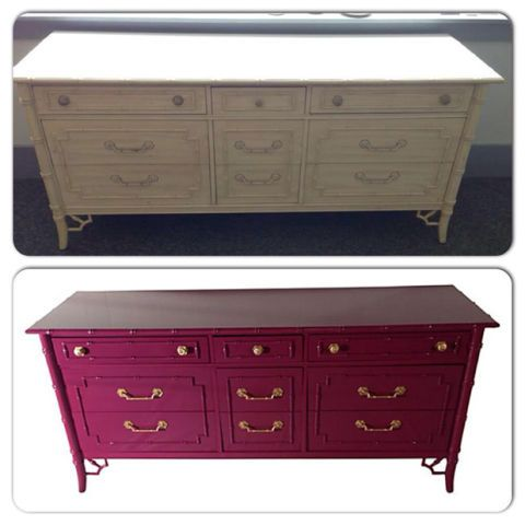 10 Furniture Makeovers From Our Readers   Furniture Rehabs   Furniture  Makeovers
