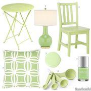 pistachio home accessories
