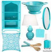 caribbean blue accessories