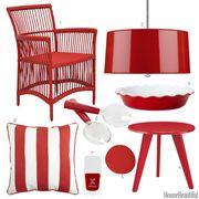 patriotic red accessories