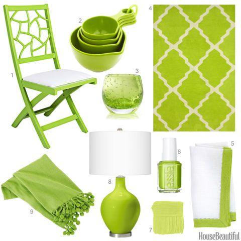 Bon Lime Green Accessories