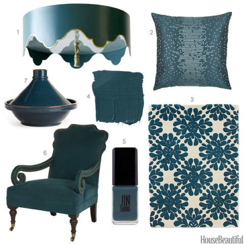 Dark Teal Home Accessories