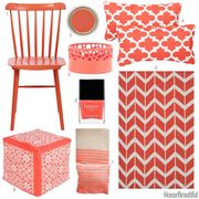 coral home accessories