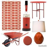 rust red accessories
