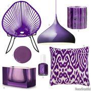 dark violet home accessories