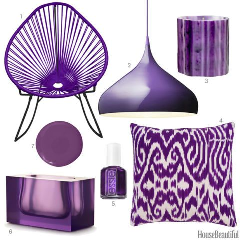 Dark Violet Home Accessories