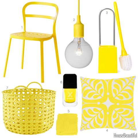 Merveilleux Bright Yellow Home Accessories