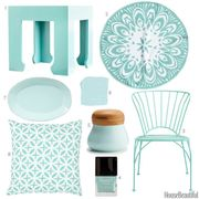 cool turquoise accessories