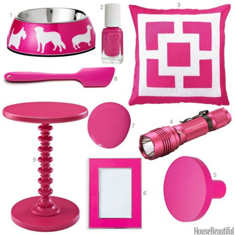 Hot Pink Accessories