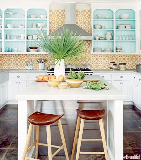 tropical kitchen design colorful kitchen decorating ideas