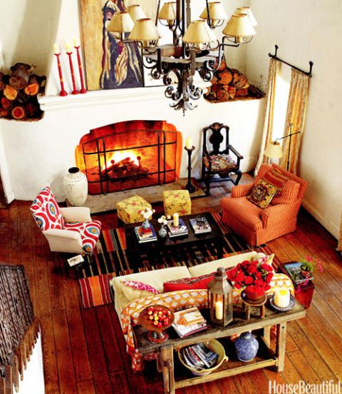 kathryn ireland's ojai living room