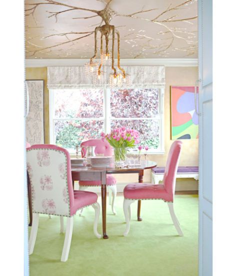 Feast Your Eyes Gorgeous Dining Room Decorating Ideas: Interior Decorating With Color