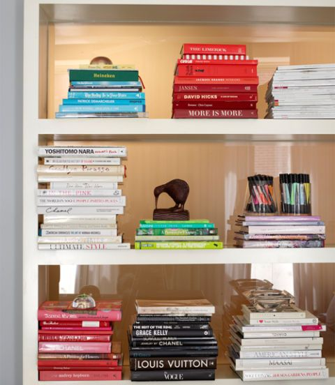 7 Unique Ways Designers Display Books