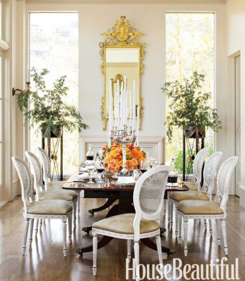 Elegant Dining Room - House Beautiful Pinterest Favorite Pins ...