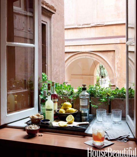 windowsill bar