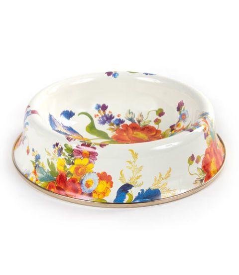 floral market cat dish