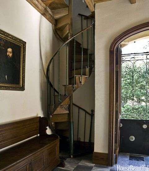 corkscrew staircase