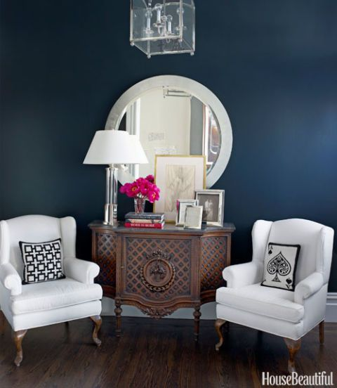 black entry walls