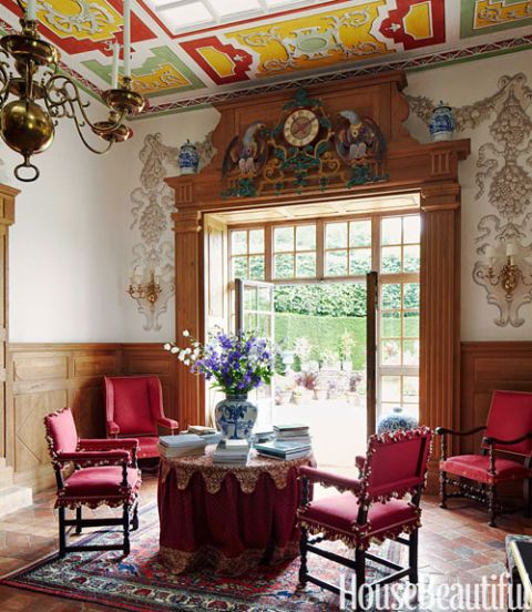 William Christie French Country Estate - French Country Interior Design