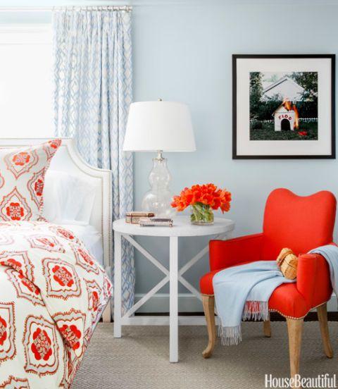 wonderful orange black bedroom ideas | Orange and Black Rooms - Orange and Black Decorating Ideas