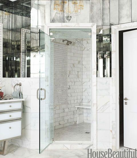 arpell bianco tile shower stall