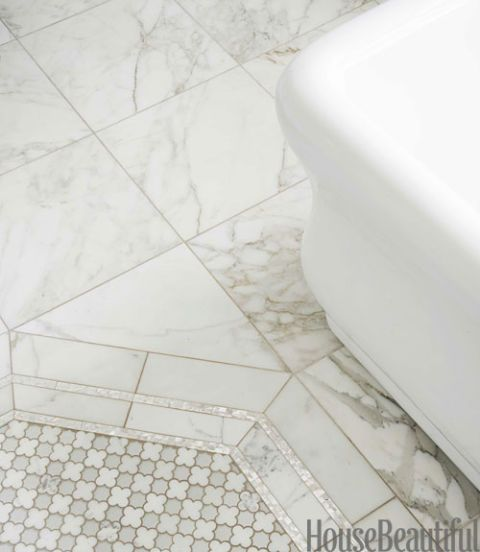 mother of pearl liner tile