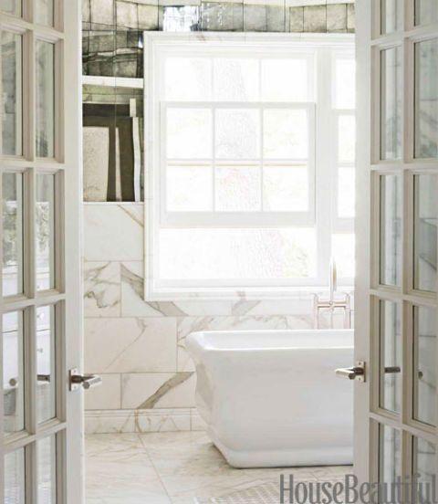 Art Deco Bathroom Marble Bathroom Design