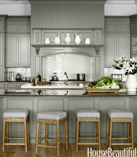 who paints kitchen cabinets gray kitchen house beautiful favorite pins 1496