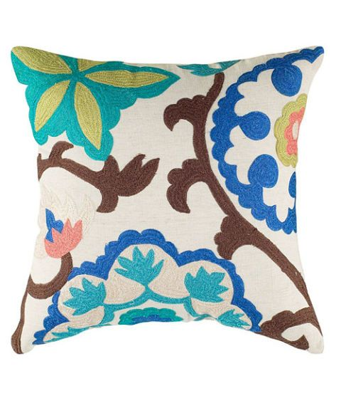 Blue, Brown, Green, Textile, Pattern, Cushion, Teal, Turquoise, Aqua, Azure,