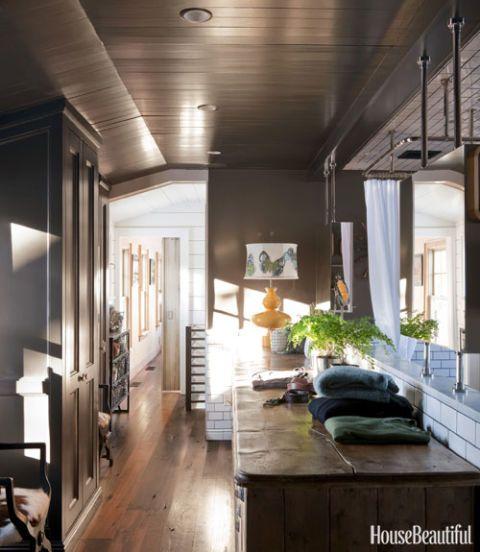 Inside an Attic Room-Turned-Gentleman's Bathroom