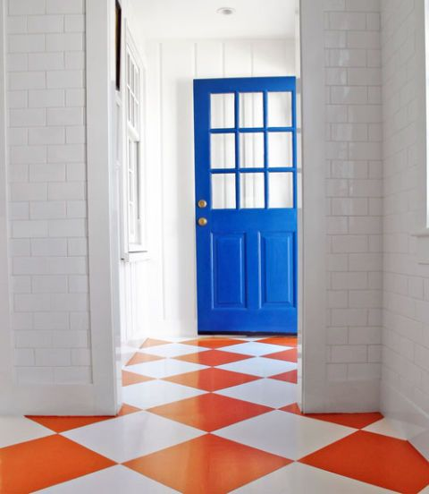 gary mcbournie painted floor