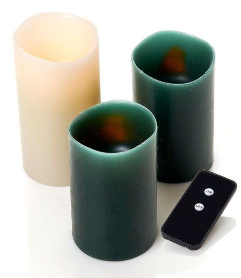flameless candles with remote