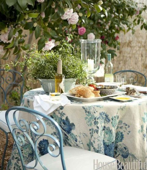 French Inspired Garden Dining