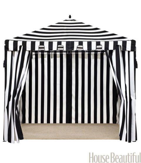 Black And White Decor Black And White Striped Home