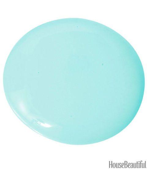 aqua blue paint