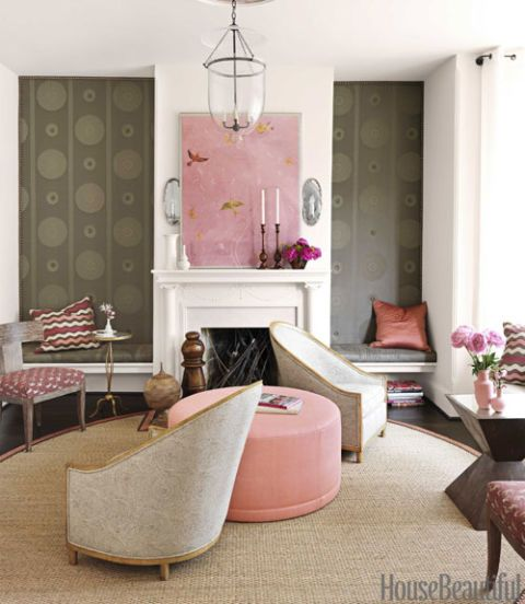 Superb Barry Dixon Interiors Of Victorian Row House Pink And Interior Design Ideas Greaswefileorg