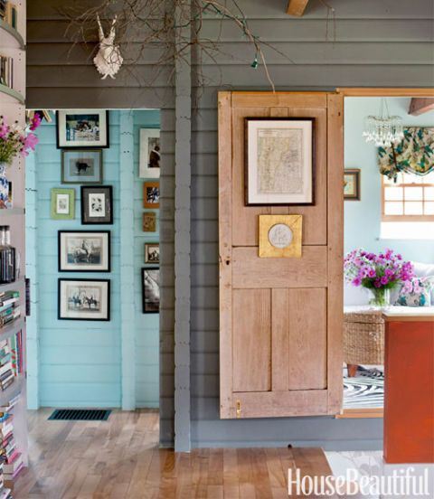 & Country Cottage Decor - Vermont Cottage Decorating Ideas