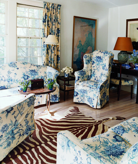 Matchy Matchy Rooms Chintz Upholstery