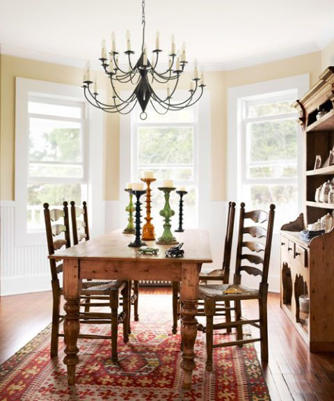 dining room after photo