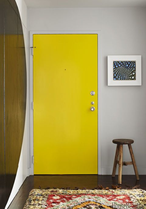 Painting Interior Doors - Pictures of Best Painted Indoor Doors