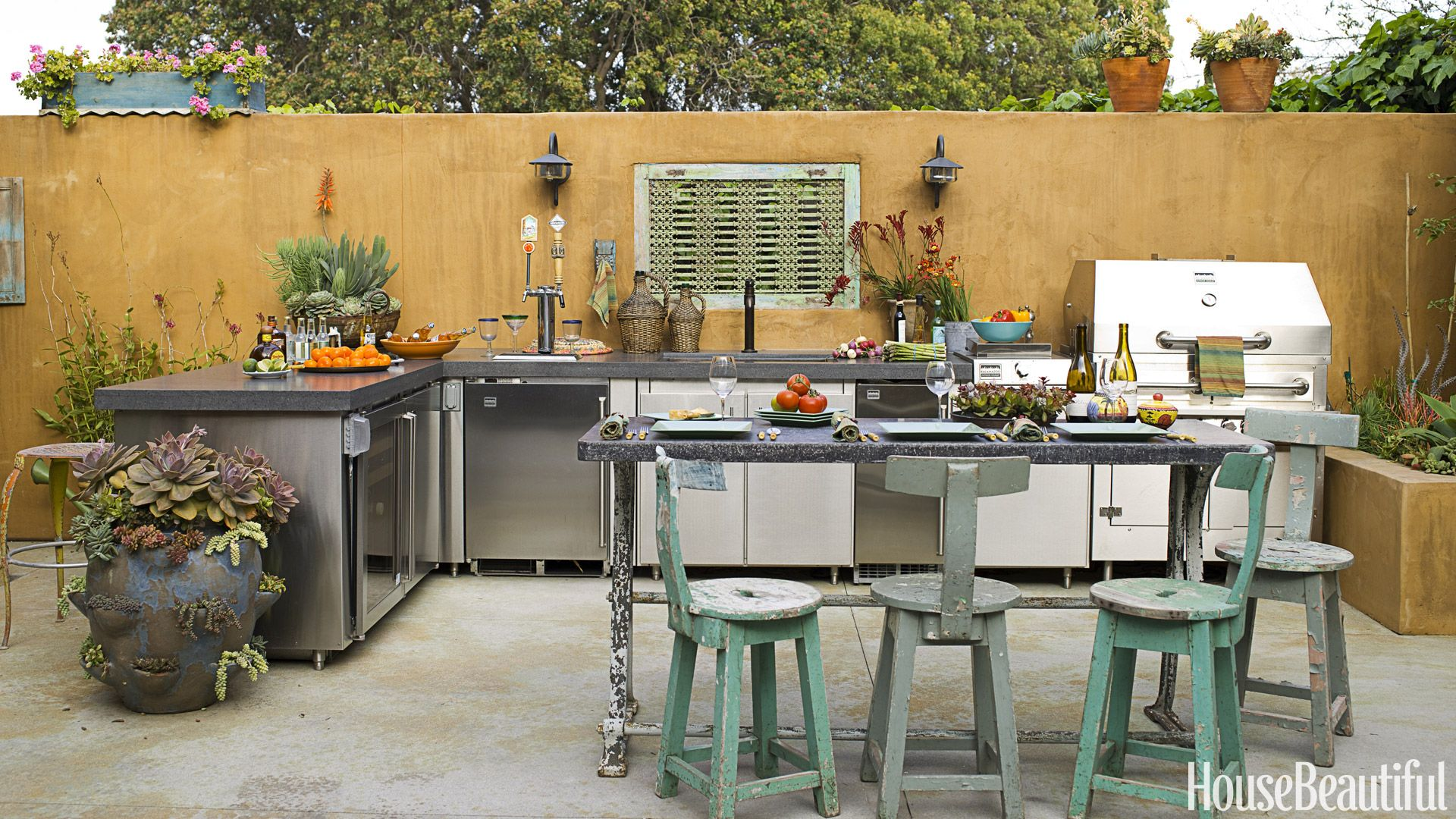 20 Outdoor Kitchen Design Ideas and