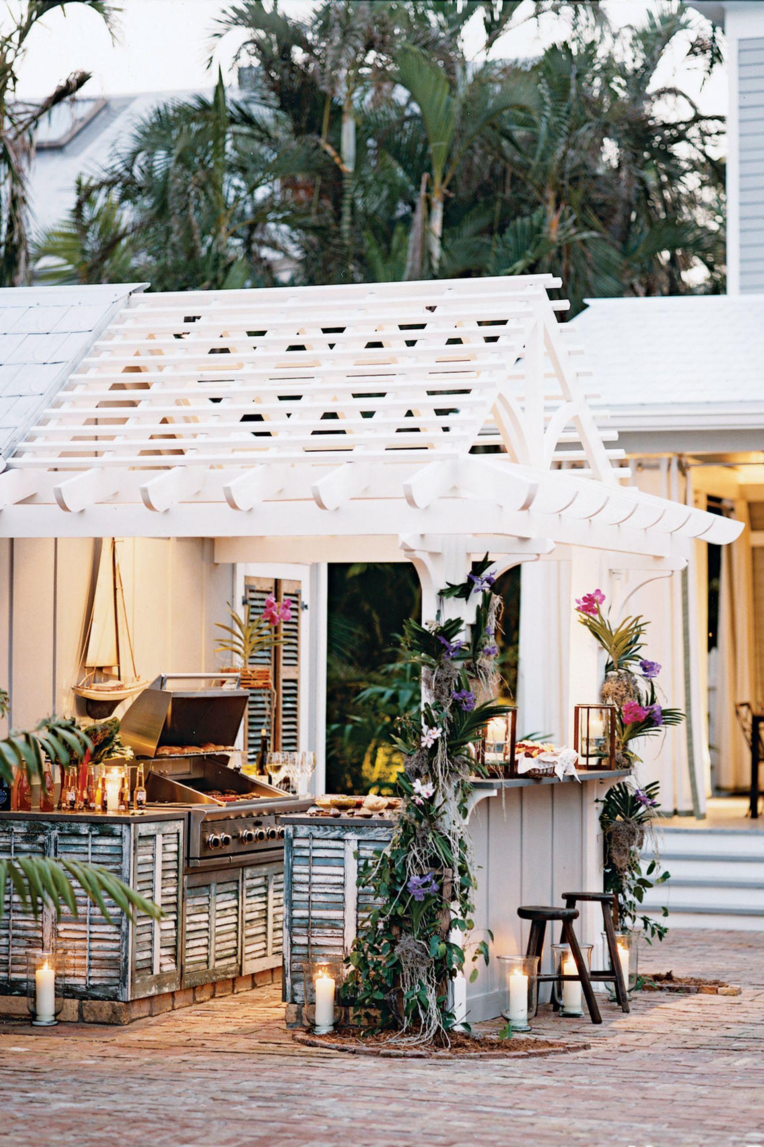 cypress outdoor kitchen